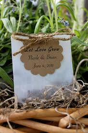 flower seed wedding favors 50 wildflower seed favors personalized by jacquelynvaccaro