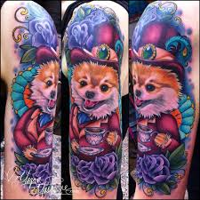 uptown doggie megan massacre tattoos pinterest tattoo