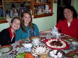 deborah vogts christmas traditions tea parties