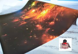 galaxy wrapping paper galaxy wrapping paper sheets space nebula gift wrap gw5056 from