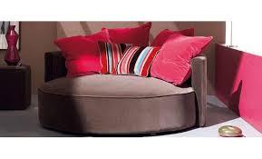 canapé circulaire canapé rond sur mesure fauteuil contemporain canapé inn