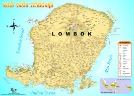 Nd Road Map The Lombok Guide Lombok Map