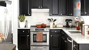 Kitchen Makeover Images - black and white kitchen makeover