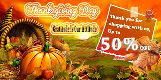 electronic news and sales info thanksgiving day decoration