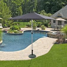 Grey Patio Umbrella 3m Diameter Garden U0026 Patio Umbrellas Ebay
