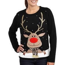 s reindeer pullover sweater walmart