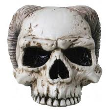 angel of hades demon skull dual nature skull statue gothic decor