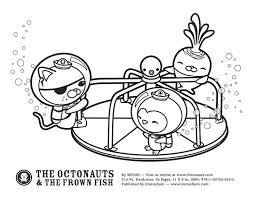 octonauts coloring pages kids gekimoe u2022 6027