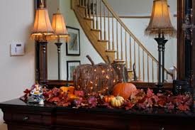 a house ready for fall
