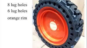 Pete S Tire Barn Orange Ma Bobcat Tires 10x16 5 Youtube