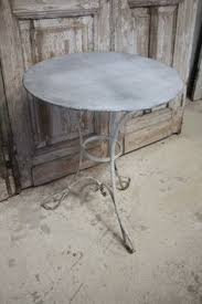 Zinc Top Bistro Table Bistro Tables Bistro Table Sets American Country Outdoor