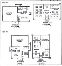 the construction of a carnegie library the san diego free public bertram included sample floor plans for efficient library design image 28