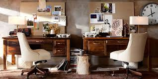 Awesome Bowry Home Office Furniture Pottery Barn Within Pottery Barn