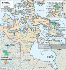 Map Of Saskatchewan Canada by Physical Map Of Nunavut Pictures Getty Images