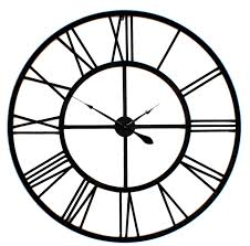 Best 25 Large Wall Clocks Big Metal Wall Clocks