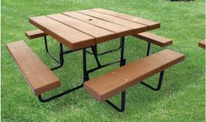 barcoboard square picnic table barco products