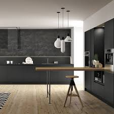 2017 Interior Trends Black Lines Unprogetto Cuisine Armony Fenix Ntm 002 Cuisine Deco Pinterest