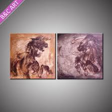 Wholesale Home Decor Items Horse Painting Horse Painting Suppliers And Manufacturers At