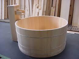 Round Bathtub Ofuro Soaking Tubs Round Tub In L A Front