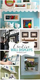 creative wall displays gallery walls and more landeelu com