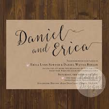 country wedding programs hadley designs rustic