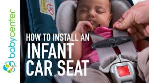 Most Comfortable Infant Car Seat Infant Car Seat Installation Youtube