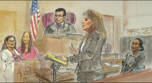 sketches of court salon owner awarded no damages in car accident