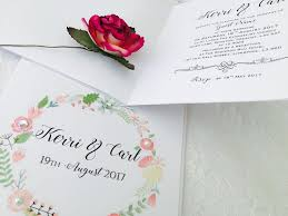 vintage floral wedding invitations chic style amor designs