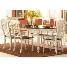 7 dining room sets dining room dining room sets ohana 1393 7 pc white dining set at