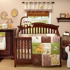 Wicker Crib Bedding King Baby Nursery Themes With Lacquered Wooden Crib Plus