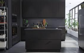 ikea black kitchen cupboards ikea kitchen inspiration