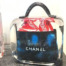 artist fred allard features popular brands such as chanel and coca
