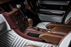 luxury range rover new vilner interior adds luxury touches to bgt range rover sport