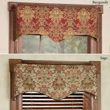 windows scalloped valances for windows decor 25 best ideas about