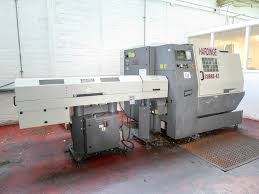 hardinge model cobra 42 lc cnc lathe with ge fanuc 21i tb