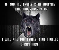 Wolf Meme Generator - wolf hates trolls by syafiqiqbalsagito90 on deviantart
