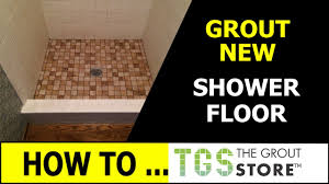 tile over shower floor with super grout never seal or caulk