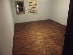 Basement Floor Stain by Video How To Stain Plywood Floor Subfloor Flooring Tiny House