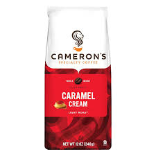 amazon com cameron u0027s specialty coffee caramel cream 12 ounce