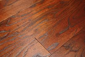 elm tobacco 9 16 x 5 wire brushed domestic engineered hardwood
