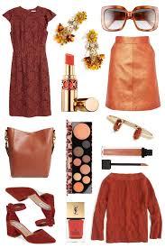 fall color crush rust blonde u0027s moment