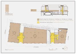 Floor Plan Business Floor Plans And Vertical Section Plac Zamkowy Senatorska