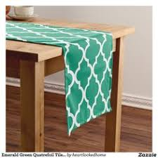 emerald green table runners lime green chevrons pattern short table runner shorts chevron