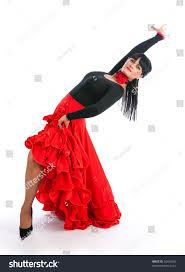 beautiful flamenco dancer dancing contest stock photo 30464209