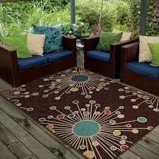 Indoor Outdoor Area Rugs Wrought Studio Rahn Brown Indoor Outdoor Area Rug U0026 Reviews Wayfair