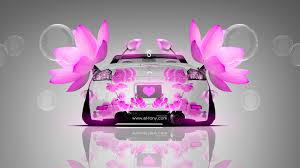 purple mitsubishi eclipse mitsubishi eclipse back flowers car 2014 el tony