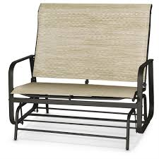 Antique Metal Porch Glider Front Porch Awesome Outdoor Glidern Chair Idea With Fabric Seat