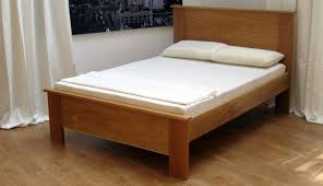 Oak Bed Frame Made To Measure Oak And Walnut Beds Riverwood Bedmakers