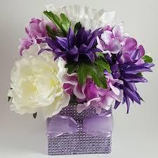 hydrangea centerpiece purple and hydrangea centerpiece r r party store