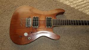 new project day to the previous owner of this ibanez sz320